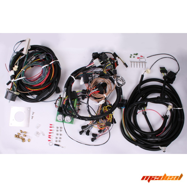 omix ada centech heavy duty wiring harness for 76 86 jeep. Black Bedroom Furniture Sets. Home Design Ideas
