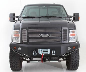 SmittyBilt M1 Truck Bumper - Front Fits Ford 08-10 Super ...