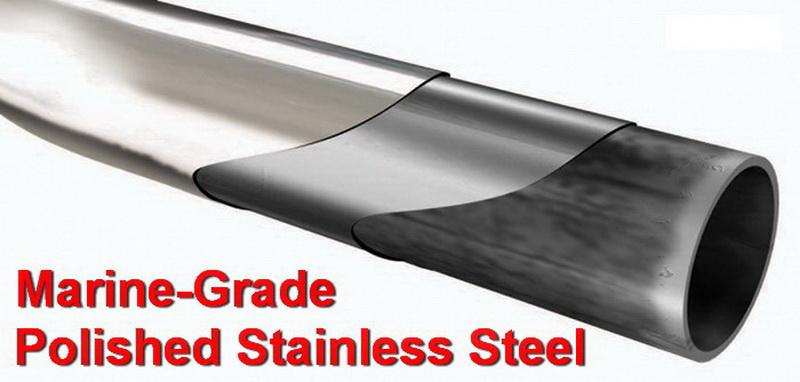 New 3/'/' stainless side step bars #38007 for 07-12 Dodge Nitro